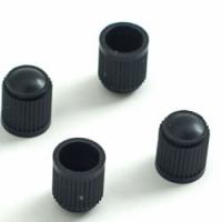 Ковпачок на ніпель колеса пластиковий чорний