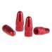 Ковпачок на ніпель алюмінієвий (PRESTA) червоний