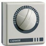 Кімнатний термостат механічний CEWAL RQ01