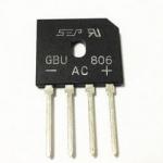 Діодний міст GBU806 8А 600V двопівперіодний