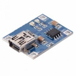 Модуль TP4056 контролер заряду Li-ion акумуляторів вхід miniUSB 5V 1А