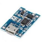 Модуль TС4056 контроль заряду Li-ion акумуляторів 1A 5V