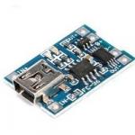 Модуль зарядки Li-ion акумуляторів TС4056 miniUSB 1A 5V