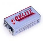 Батарейка GOLITE 400mAh 9V 6F22 вугільно-цинкова (крона)