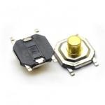 Кнопка тактова 4х4х3мм мініатюрна H-3mm