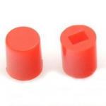 Ковпачок для кнопки A06 6х7мм червоний