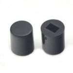 Ковпачок для кнопки A06 6х7мм чорний