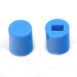Ковпачок для кнопки A06 6х7мм синій