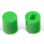 Ковпачок для кнопки A06 6х7мм зелений