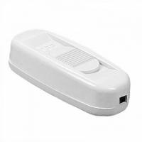 Клавішний перемикач для бра KCD5-322 (CE-1033) білий