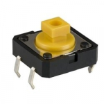 Кнопка тактова B3F-4055 12x12x7.3mm без фіксації