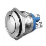 Кнопка антивандальна LB16C-Q10F-N D=16mm