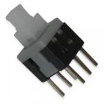 Кнопка PB22E06 з фіксацією (B92-04-04) 6x6x10mm