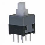 Кнопка PB22E09 з фіксацією (B94-05-06) 8.5x8.5x14mm