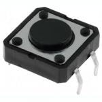 Кнопка тактова 12x12х4.3mm без фіксації