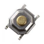 Кнопка тактова 4х4х1.5мм мініатюрна H-1.5mm