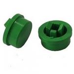 Ковпачок А24 12х12х7.3mm для кнопки зелений