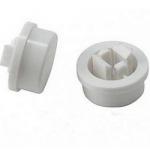 Ковпачок А24 12х12х7.3mm для кнопки білий