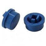 Ковпачок А24 12х12х7.3mm для кнопки синій
