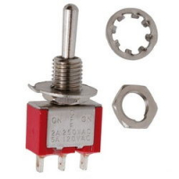 Тумблер MTS-103 3pin ON-OFF-ON 250V 2A