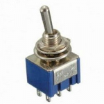 Тумблер MTS-202 6pin ON-ON 125V 6A