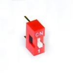 Перемикач DS-01 повзунковий прямий (аналог SWD ВДМ) DIP
