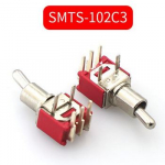 Тумблер SMTS-102C3 3pin ON-ON 250VAC 1.5A