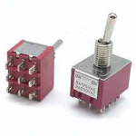 Тумблер MTS-302 9pin ON-ON 250V 2A