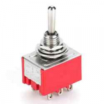 Тумблер MTS-303 9pin ON-OFF-ON 250V 2A