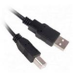 Кабель до принтера USB чорний 1.5м