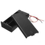Кейс (бокс) для акумуляторів 2 х 18650 Li-Ion з кришкою і кнопкою