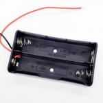 Тримач для акумуляторів 2х18650 Li-Ion з проводом
