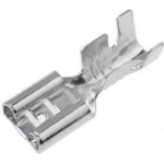 Наконечник ножовий 6.3x0.8mm на провід