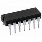Мікросхема К155ЛА8 аналог SN7401 DIP14