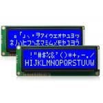 LCD1602B-2 122х44мм синій великі символи кирилиця