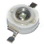 Світлодіод 1W 520-525nm 60-70lm 0.35A зелений