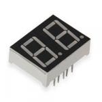Дворозрядний індикатор F3261AH з загальним катодом