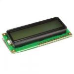 РК-дисплей LCD1602B кирилиця RAYSTAR зелений