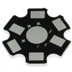 Радіатор STAR підкладка під світлодіод 1-5 Вт зірка