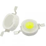 Світлодіод 1W LED 80-90LM 0.35A білий холодний