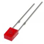 Світлодіод червоний 2х3х4 мм LED прямокутний