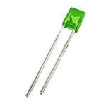 Світлодіод зелений 2х3х4 мм LED прямокутний