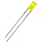 Світлодіод жовтий 2х3х4 мм LED прямокутний