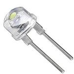 Світлодіод 8мм F8 LED 0.25W білий