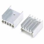 Радіатор алюмінієвий 25х24х16 мм