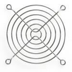Решітка FG-09 для вентиляторів 92x92мм Merlion Silver