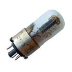 Радіолампа 6Н8С металевий цоколь подвійний тріод