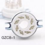 Панель лампова GZC8-1 8-pin кераміка на шасі