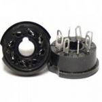 Панель лампова ПЛ8-3П карболіт чорна