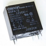 Реле G5PA-2 24VDC Omron заміна (HRM4-S-DC24V JZC-42F)